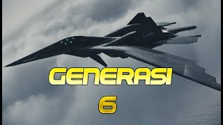 Download Video CANGGIH..!! RUSIA Kembangkan Pesawat Tempur Generasi ke 6 MP3 3GP MP4