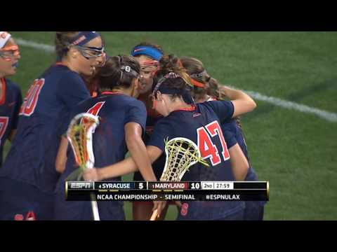 Highlights: Syracuse vs. Maryland (NCAA Women's Semifinal)