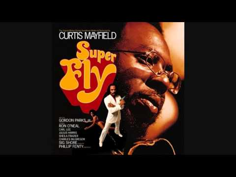 """Curtis Mayfield """"Pusherman"""" (Alternate mix with horns)"""