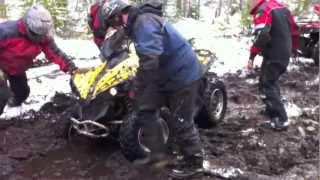 Corner Brook (NL) Canada  city photo : ATV mud ride Corner Brook NL Canada