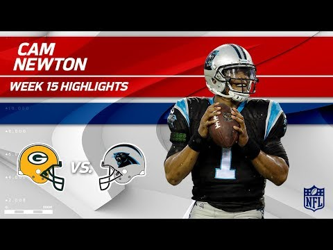 Video: Cam Newton Highlights | Packers vs. Panthers | NFL Wk 15 Player Highlights