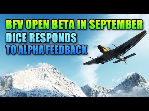 DICE Responds To Alpha Feedback - BFV Open Beta Starts In September