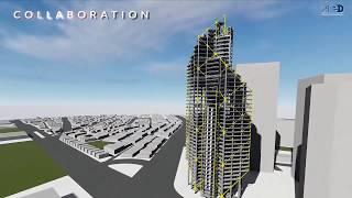 EllisDon / Arpro JV - ATRIO - Colombia ATRIO is a major mixed-use commercial development in central Bogotá, Columbia.