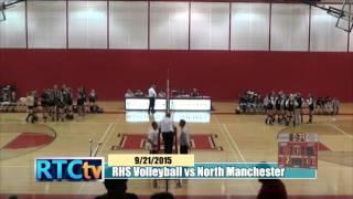 Rochester High School Volleyball vs Manchester