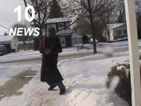 Weather man channel 10 news blooper