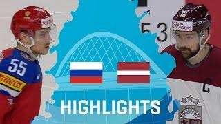 Россия - Латвия 5-0