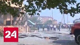 В Махачкале прогремел взрыв