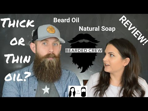 Different beard oil thickness options a good idea? Bearded Crew review!