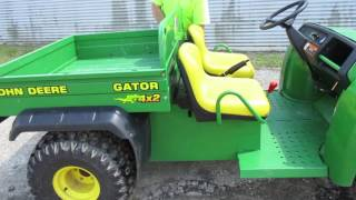 8. 2000 John Deere Gator for sale at Auction!