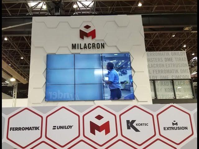 K Show 2016 Milacron SV_250_Extruder