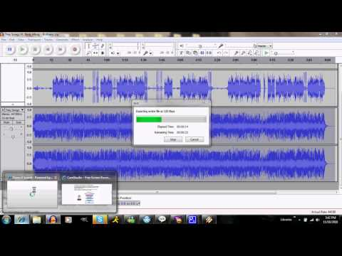 Audacity 1.3 Clipping Removal Tutorial