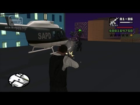 GTA San Andreas - Walkthrough - Mission #91 - Breaking the Bank at Caligula's [Alternative Method] (HD)