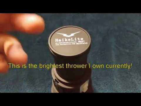 Haikelite Buffalo MT07 flashlight review!