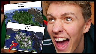 REACTING To CRAZY Things In MINECRAFT...