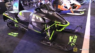 5. 2017 Arctic Cat M 8000 153 Sled - Walkaround - 2016 Toronto ATV Show