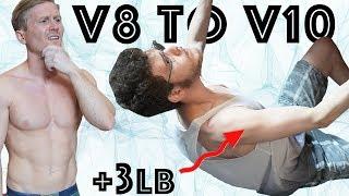V8 to V10 in 4 months - Crazy transformation! #165 by Magnus Midtbø