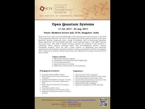 A discussion on quantum heat baths by Abhishek Dhar