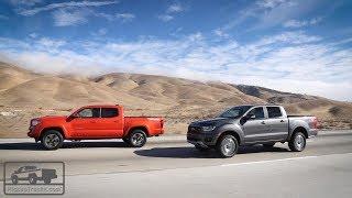 2019 Ford Ranger vs. 2018 Toyota Tacoma: Real-World Test — Pickuptrucks.com