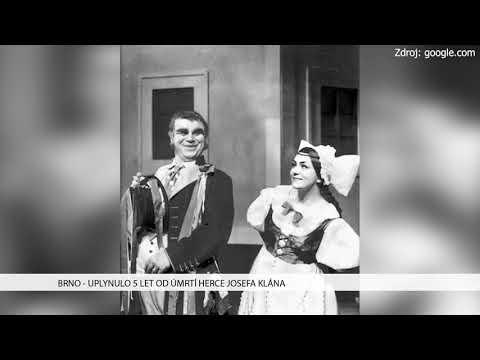 TV Brno 1: 11.12.2017 Uplynulo 5 let od úmrtí herce Josefa Klána
