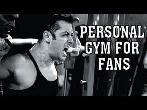 Salman Khan's gym open for FANS
