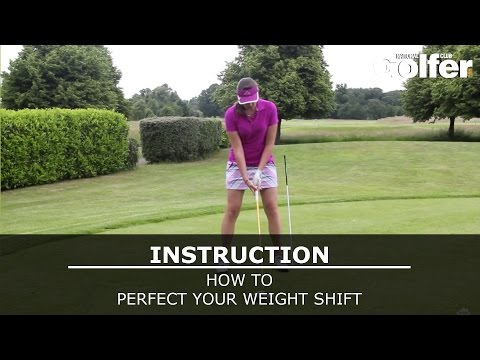 Golf video tips: Perfect your weight shift with this simple drill