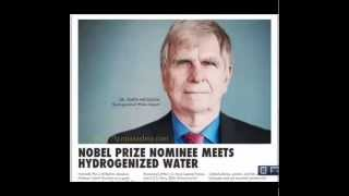 Nordenau Germany  city images : Nobel Prize Nominee Meets Hydrogenized Water,Dr Garth Nicolson Hydrogenized Water Expert