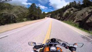9. Weekend Ride into the Rockies - 2012 Vulcan 900 Custom SE