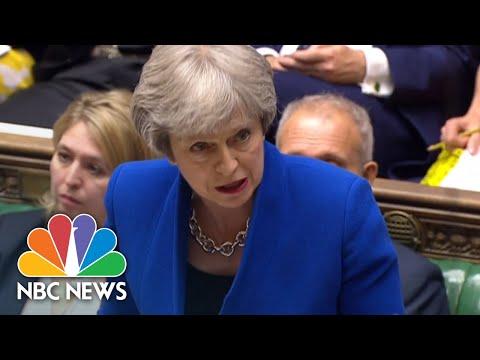 Britain's Prime Minister Criticizes President Donald Trump's Border Separation Policy | NBC News (видео)
