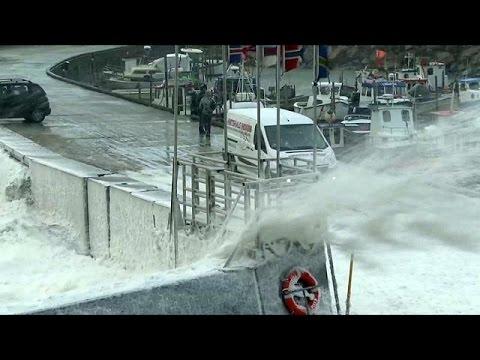 Καταιγίδα πλήττει τις νότιες περιοχές των σκανδιναβικών χωρών
