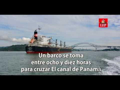 La travesía del Vapor Ancón por el Canal de Panamá hace 103 años