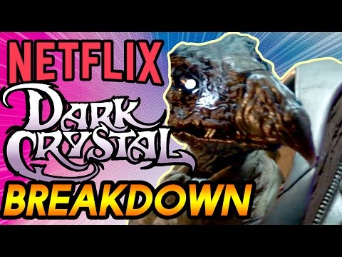 The Dark Crystal Prequel Teaser Breakdown   CGI vs. Animatronics Rant