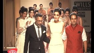Wills Lifestyle India Fashion Week Day 1: Shantanu And Nikhil's Collection Sizzles The Stage