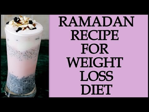 Ramadan Diet/Meal Plan  How to Lose Weight Fast in Ramadan  Pudding Recipe  Fat to Fab