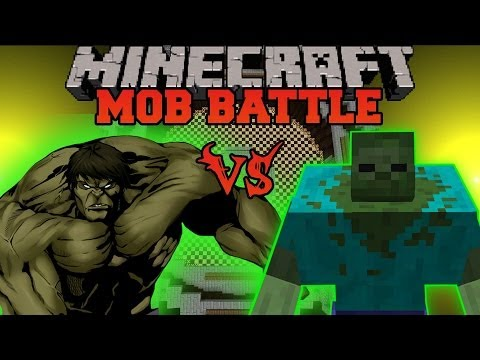 Battle - The Hulk Vs. Mutant Zombie! Can we get 2000 likes for the epic battle?! Don't forget to subscribe for more battles and epic Minecraft content! Facebook! http...