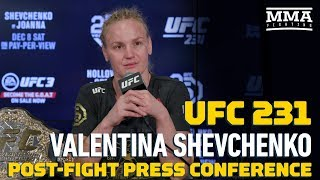 Video UFC 231: Valentina Shevchenko Post-Fight Press Conference - MMA Fighting MP3, 3GP, MP4, WEBM, AVI, FLV Desember 2018
