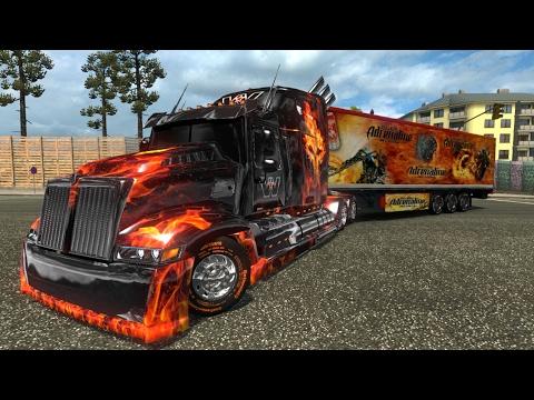 Heavy truck: Optimus Prime Western Star 5700 ETS2 1.26.5.1s