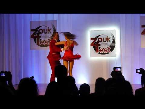 Pedrinho Mattos & Ulle Adamson Samba Funkeado Dance Show, 3rd London Zoukfest Congress, Feb 2015
