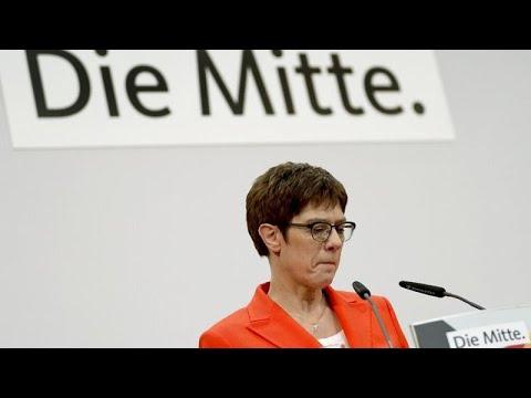 CDU: Kramp-Karrenbauer (AKK) gibt Kanzlerkandidatur und Partei-Vorsitz auf