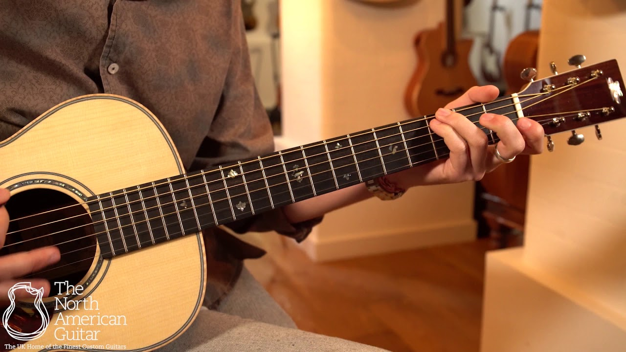 Froggy Bottom P14 Deluxe Acoustic Guitar Played By Brian Love (Part Two)