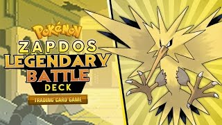 Pokémon Cards - Zapdos Legendary Battle Deck Profile! by The Pokémon Evolutionaries