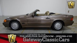 1991 Mercedes-Benz 500SL, Gateway Classic Cars Philadelphia - #242
