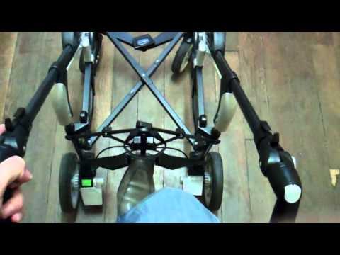 ConsoBaby.com - Mon avis sur la poussette CHICCO TRIO LIVING Châssis
