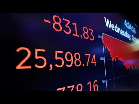 Tech stocks among the hardest hit as Dow Jones plummets