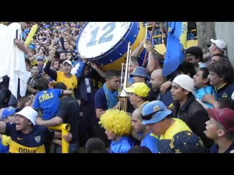 Entra la 12 vs riBer - 2013 - La 12 - Boca Juniors