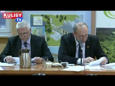 Sesja rady miejskiej w Działoszynie