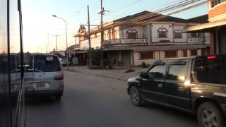 Ban Phonsavan Laos  city photos gallery : Driving Scenes in Phonsavan / Laos/ 2015 FullHD