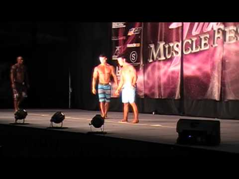 Sean Smith wins 1st Place Overall Physique Open at Pink Muscle Fest 2014