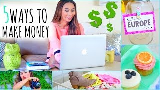 5 Ways To Make Money This Summer! ☼ On The Internet - YouTube