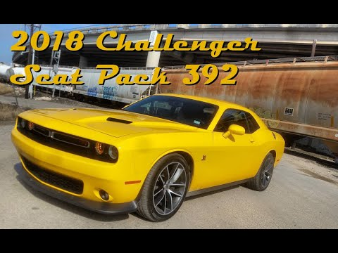 2018 Dodge Challenger R/T Scat Pack Review || SRT Power On A Budget! (видео)