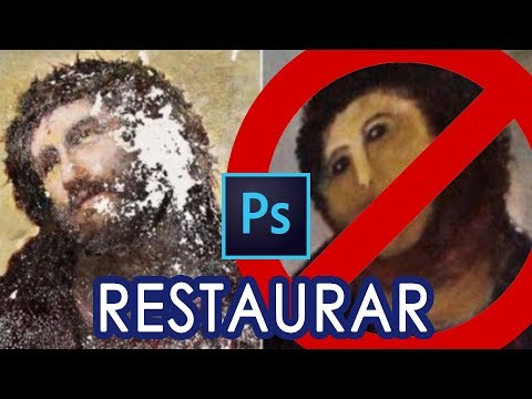Cómo RESTAURAR UNA FOTO ANTIGUA Con Photoshop CC /Tutorial
